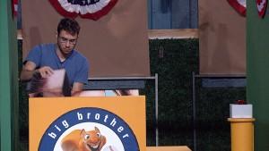 "Steve wins the ""Starting Lineup"" #HOH comp #BB17"