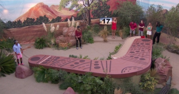"James competes in the ""Boomerang"" #POV #BB17"