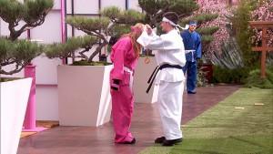Caleb presents Vanessa with the final #POV #BB17