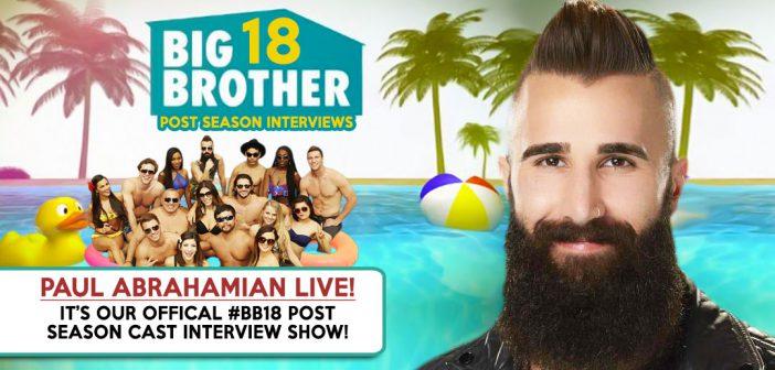 #BB18 Post Season Interview: Paul Abrahamian