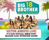 #BB18 Post Season Interview: Victor Arroyo