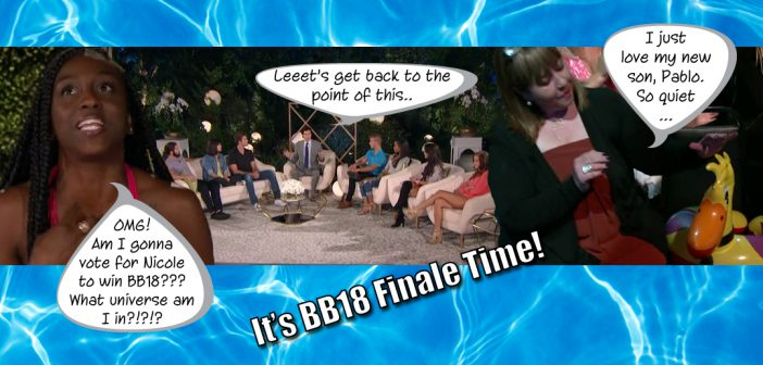 BB18 Finale Blog Recap