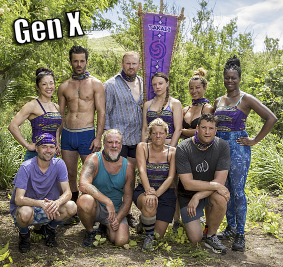 The Takali Tribe on SURVIVOR: Millennials vs. Gen. X, when the Emmy Award-winning series returns for its 33rd season with a special 90-minute premiere, Wednesday, Sept. 21 (8:00-9:30 PM, ET/PT) on the CBS Television Network. Photo: Monty Brinton/CBS Entertainment �©2016 CBS Broadcasting, Inc. All Rights Reserved.