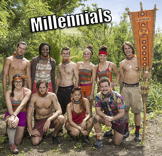 The Vanua Tribe on SURVIVOR: Millennials vs. Gen. X, when the Emmy Award-winning series returns for its 33rd season with a special 90-minute premiere, Wednesday, Sept. 21 (8:00-9:30 PM, ET/PT) on the CBS Television Network. Photo: Monty Brinton/CBS Entertainment �©2016 CBS Broadcasting, Inc. All Rights Reserved.