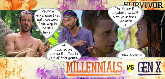 Survivor 33 Millennials Vs Gen X Blog Recap Episode 3: Your Job is Recon