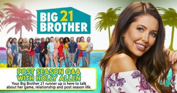 BB21 POST SEASON Q&A WITH: Holly Allen