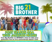 BB21 POST SEASON Q&A WITH WINNER: Jackson Michie